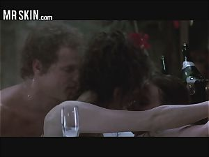 super hot Celebs Pop Champaign And Get plumbed