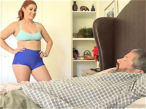 Edyn Blair drilled By fat ebony trouser snake spouse sees