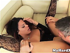crazy Latina Luna star pussyfucked