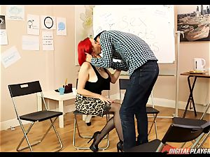fuck-fest junkies anonymous gets a bit red-hot with Jasmine James and Danny D