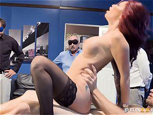 insane office antics with Monique Alexander