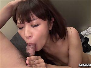 japanese Aoi Miyama was fuckfest in the elevator uncensored