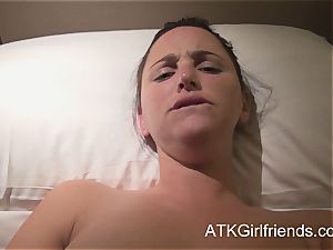 pov with expect Howell in Singapore concludes with internal ejaculation