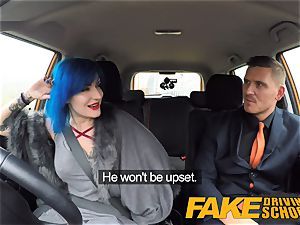 faux Driving college stellar emo gets her bootie pounded