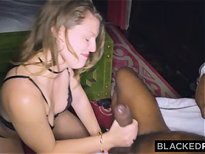 BLACKEDRAW gf cheats with the biggest knob she's EVER seen