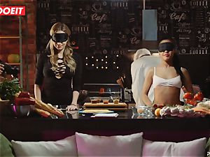 LETSDOEIT - fuckfest Cooking With stunners Apolonia and Angel