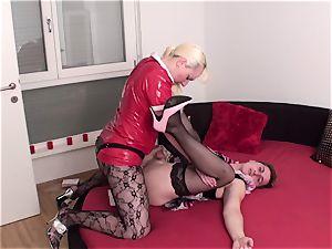 female domination ladies pegging marionettes