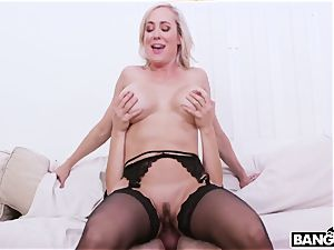 Harry Potter and Hermione and big-chested Mature slut Brandi enjoy