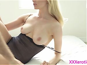 Alluring Alli Ray penetrated supreme and caked in jizz