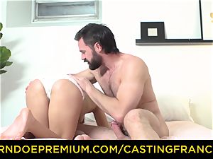 audition FRANCAIS - first-timer sweetie boned and jizz caked