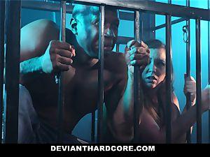 DeviantHardcore - interracial buttfuck babe Gets predominated