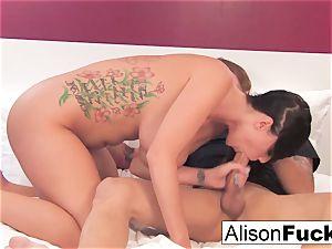 Alison gets her slit boned