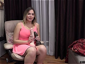 saucy donk stepsister Blair gets nailed on the couch