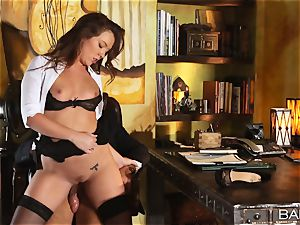 Maddy OReilly is porked over the desk by the chief
