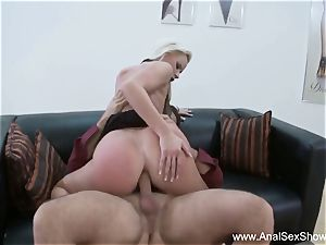 european cougar Needs firm chisel Up Her rosy pucker