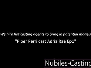 Piper Perri casts very first time xxx for tiny nubile
