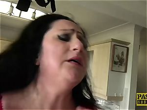 ample bodacious gal face fucked and dominated by thick manmeat