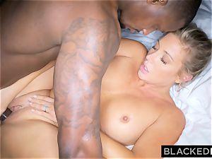 BLACKEDRAW platinum-blonde trophy wife Cucks Her husband With bbc