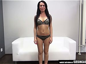 Czech milf auditioning for porn
