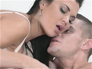 astounding orgy with busty porn starlet Jasmine Jae
