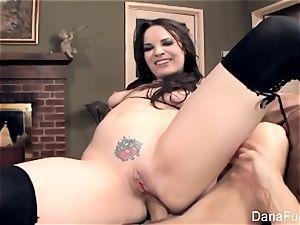 splendid Dana DeArmond gets a pov donk shag