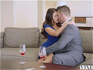 VIXEN Adriana Chechik penetrates Her boss