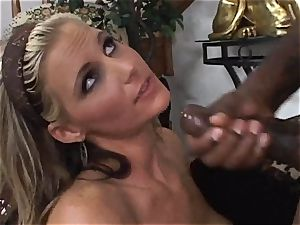 Phoenix Marie gets squirted with red-hot balls splooge