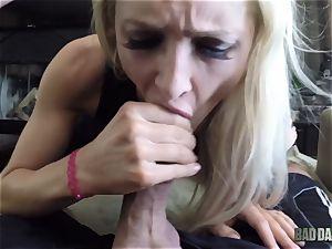 Alix Lynx pov fuckbox thrashed by her step-dad