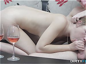 messy Flix - Alexis Crystal - sensuous ejaculation