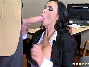 super-fucking-hot lawyer Nikki Benz getting poked by a massive dick