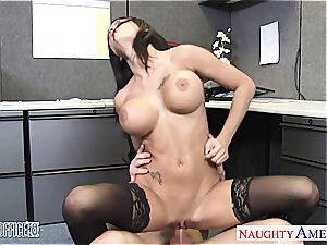 ideal Peta Jensen insatiable for his thick weenie at the office