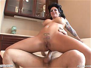 buxom ultra-kinky milf Mason Moore - unloading during anal hookup