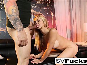 Sarah Vandella gets screwed rock hard