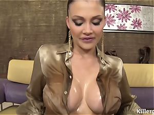 doll lubed Up For A double penetration