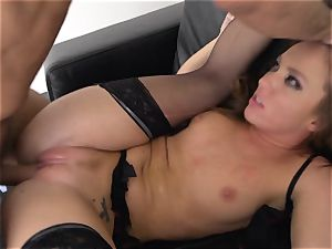 Maddy OReilly wedged utter in her undergarments